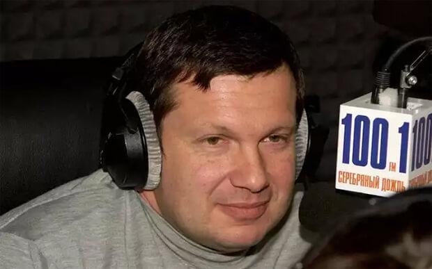 2000 г. — Владимир Соловьев, Bедущий радио «Серебряный Дождь»