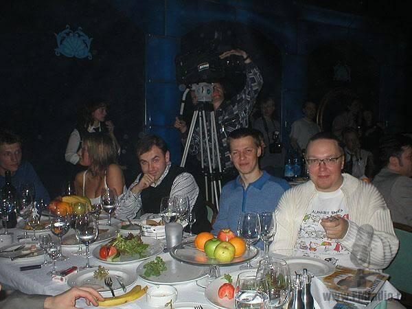 Георгий Цихисели, Владимир Степанов (Европа Плюс), Сергей Стиллавин (Радио Максимум)