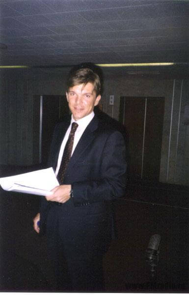 Кирилл Клеймёнов (ОРТ) На встрече побывать не смог. Готовил очередной выпуск программы ВРЕМЯ