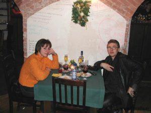 Анна Гончарова и Дмитрий Барков (Радио Юность)