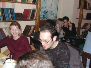 Блондинка Таня (Наше Радио) и Михаил Козырев