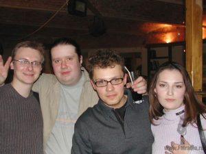 Павел Картаев (Наше Радио), Алексей Крюков, Артур Вафин (Радио Шансон) и Наталья Картаева