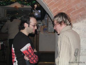Михаил Козырев и Илья Ефимов (Радио Монте-Карло)