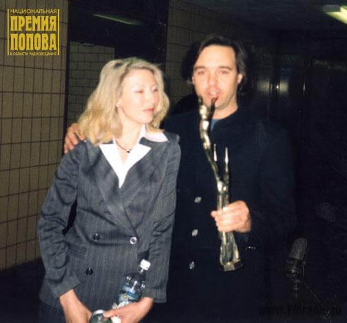 Евгений Ельцов (Русское радио) со спутницей