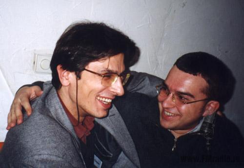 Михаил Галич (Радио МВ) и Иван Суворов (АГНИ)