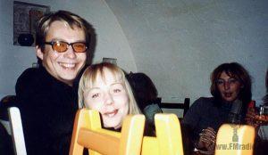 Константин Михайлов (Радио Максимум) и Юлия Солнцева (Серебряный Дождь)