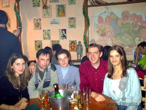 Надя, Татьяна и Игорь Гузей (Клуб Радио), Кирилл Мантульников (rusFMpro.ru), Алита