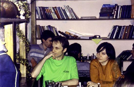 Александр Базаров (Хит-ФМ) и Анна Куксо (Максимум)