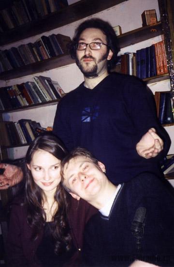 Михаил Козырев, Наталья и Павел Картаевы (Наше Радио)